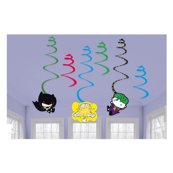 Batman vs Joker Swirl Decorations (6)